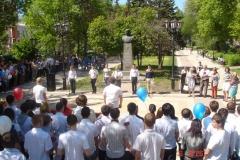 Митинг, посвящённый 68-й годовщине Великой Победы